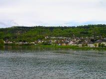 Paysage urbain au Luxembourg image stock