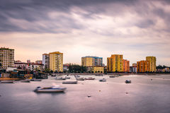 Paysage urbain Barreiro photo libre de droits