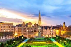 Paysage urbain Belgique de Bruxelles Images libres de droits