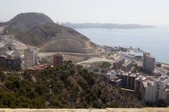 Paysage urbain d'Alicante, Photo stock