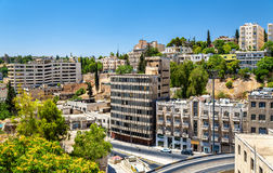 Paysage urbain d'Amman, Jordanie Photo stock