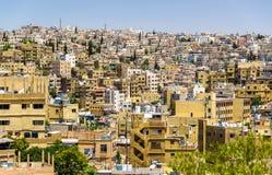 Paysage urbain d'Amman, Jordanie Image libre de droits