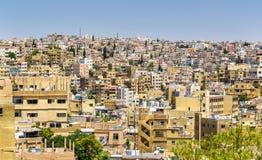 Paysage urbain d'Amman, Jordanie Photos stock