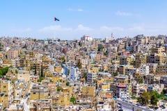 Paysage urbain d'Amman, Jordanie Photos libres de droits