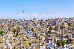 Paysage urbain d'Amman, Jordanie Photo libre de droits
