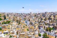 Paysage urbain d'Amman, Jordanie Images libres de droits