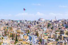 Paysage urbain d'Amman, Jordanie Photographie stock