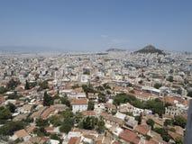 Paysage urbain d'Athènes Grèce Photo stock