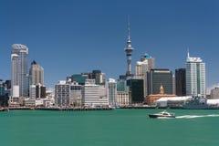 Paysage urbain d'Auckland Photographie stock libre de droits