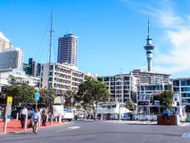 Paysage urbain d'Auckland Images stock