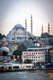 Paysage urbain d'Istanbul Photographie stock libre de droits