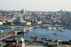 Paysage urbain d'Istanbul Photo libre de droits