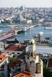 Paysage urbain d'Istanbul Image stock