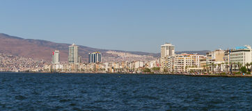Paysage urbain d'Izmir, Turquie Photo libre de droits