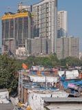 Paysage urbain dans l'Inde Images stock