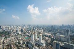 Paysage urbain dans la ville de Bangkok de la Thaïlande Image stock