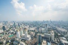 Paysage urbain dans la ville de Bangkok de la Thaïlande Photographie stock