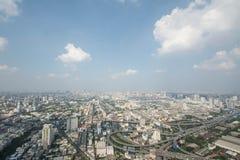 Paysage urbain dans la ville de Bangkok de la Thaïlande Photo stock