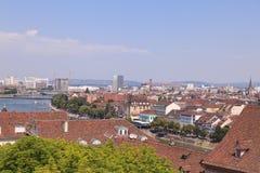 Paysage urbain de Bâle Image libre de droits
