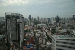 Paysage urbain de Bangkok Photographie stock libre de droits