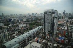 Paysage urbain de Bangkok Photos stock