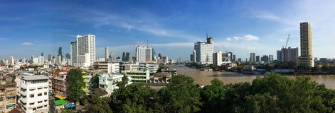 Paysage urbain de Bangkok, Thaïlande Image libre de droits
