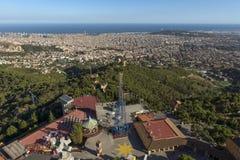 Paysage urbain de Barcelone Image stock