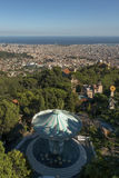 Paysage urbain de Barcelone Photo stock