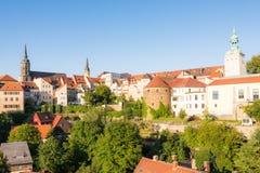 Paysage urbain de Bautzen Image stock