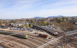 Paysage urbain de Berne Image stock