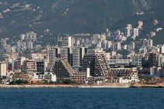 Paysage urbain de Beyrouth Photo stock