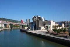 Paysage urbain de Bilbao. le musée de Guggenheim