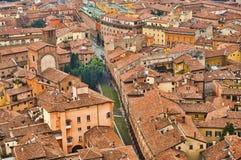 Paysage urbain de Bologna Photo libre de droits
