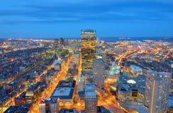 Paysage urbain de Boston Photos libres de droits