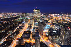 Paysage urbain de Boston Photo libre de droits