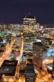 Paysage urbain de Boston Images libres de droits