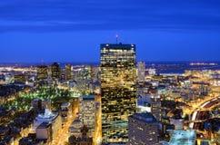 Paysage urbain de Boston Photographie stock