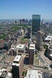 Paysage urbain de Boston photographie stock libre de droits
