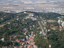 Paysage urbain de Brasov Photo stock