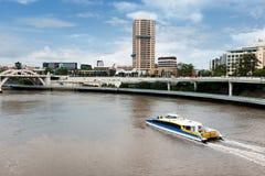 Paysage urbain de Brisbane Images libres de droits