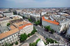 Paysage urbain de Budapest Photos stock