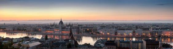 Paysage urbain de Budapest Photo libre de droits