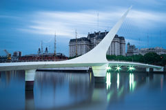 Paysage urbain de Buenos Aires Image stock