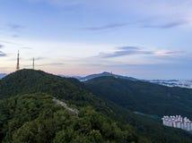 Paysage urbain de Busan photos stock
