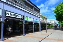 Paysage urbain de cairns dans l'Australie du Queensland Images stock
