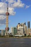 Paysage urbain de Changhaï Photographie stock libre de droits