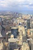 Paysage urbain de Chicago Photo libre de droits
