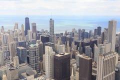 Paysage urbain de Chicago Photos stock