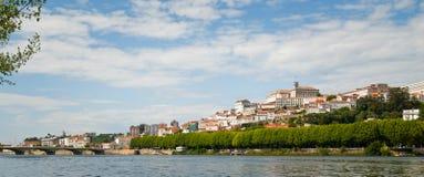 Paysage urbain de Coimbra Photos libres de droits