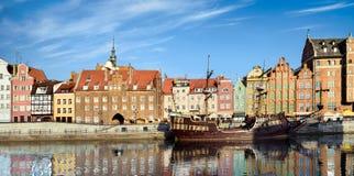 Paysage urbain de Danzig en Pologne photographie stock libre de droits